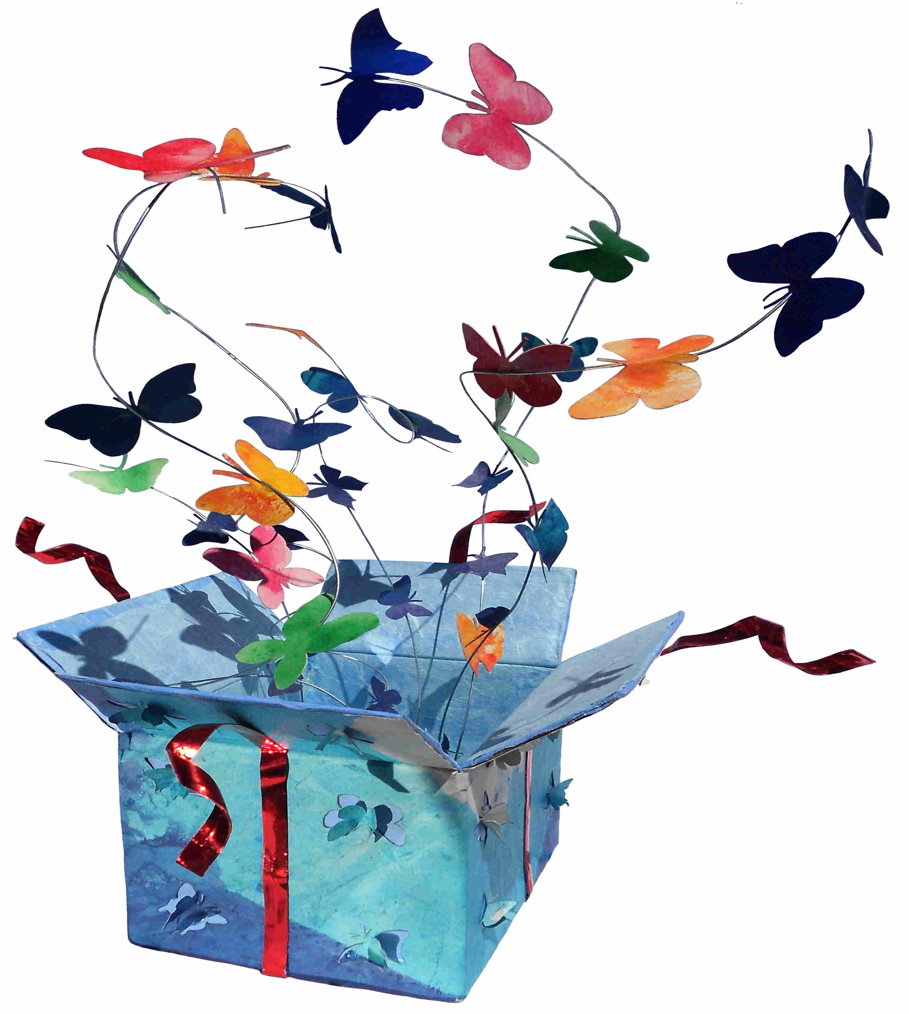 Farfalle in dono