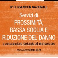 IV Convegno Nazionale Servizi di prossimità, bassa soglia e riduzione del danno