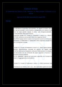 thumbnail of Codice Etico Cooperativa Frassati
