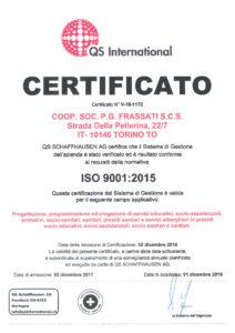 thumbnail of CERTIFICATO ISO 9001 2015 FRASSATI_2018